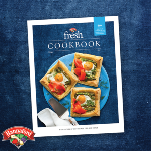 Picture of a Hannaford fresh Cookbook